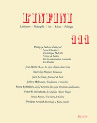 L'INFINI N111