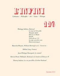 L'INFINI N116