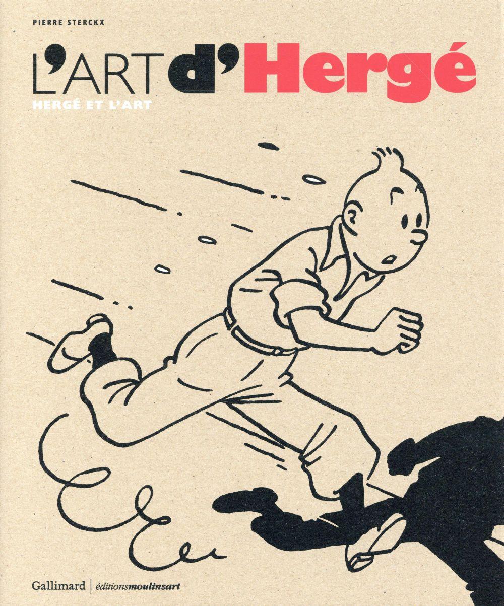 L'ART D'HERGE (HERGE ET L'ART)