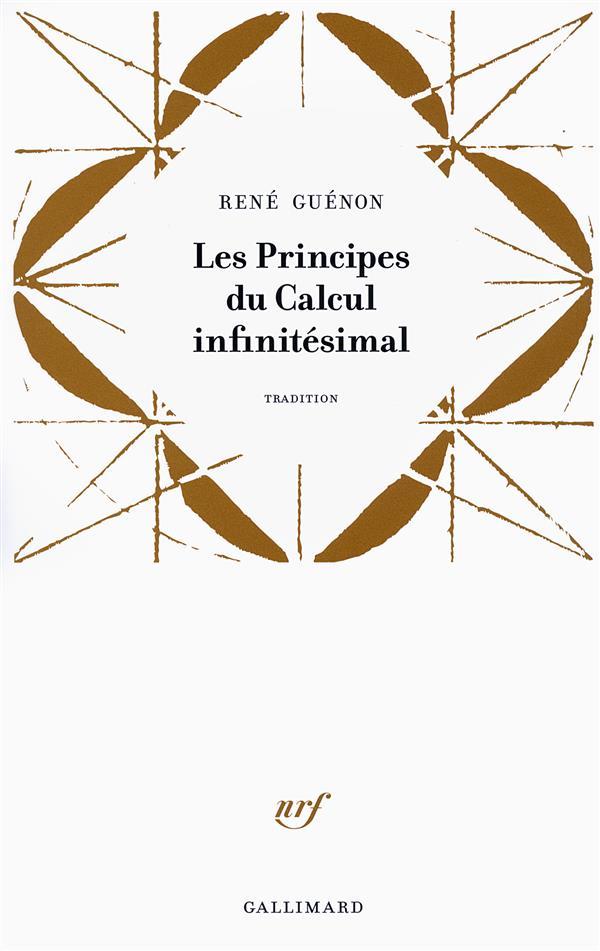 LES PRINCIPES DU CALCUL INFINITESIMAL