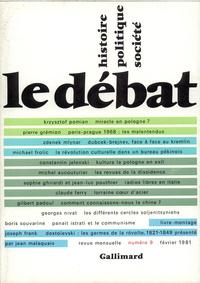 LE DEBAT 9  (FEVRIER 1981)