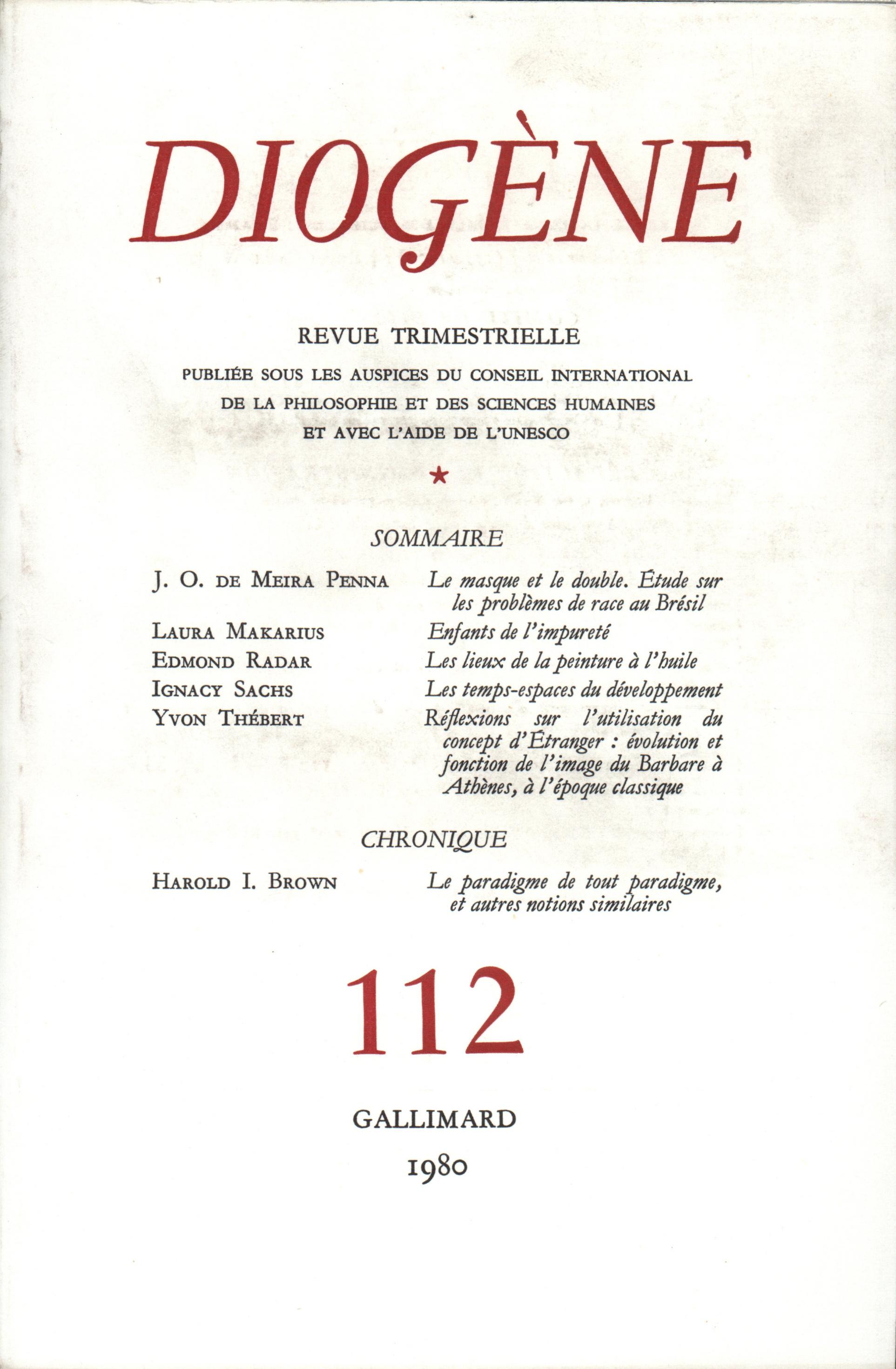 DIOGENE 112