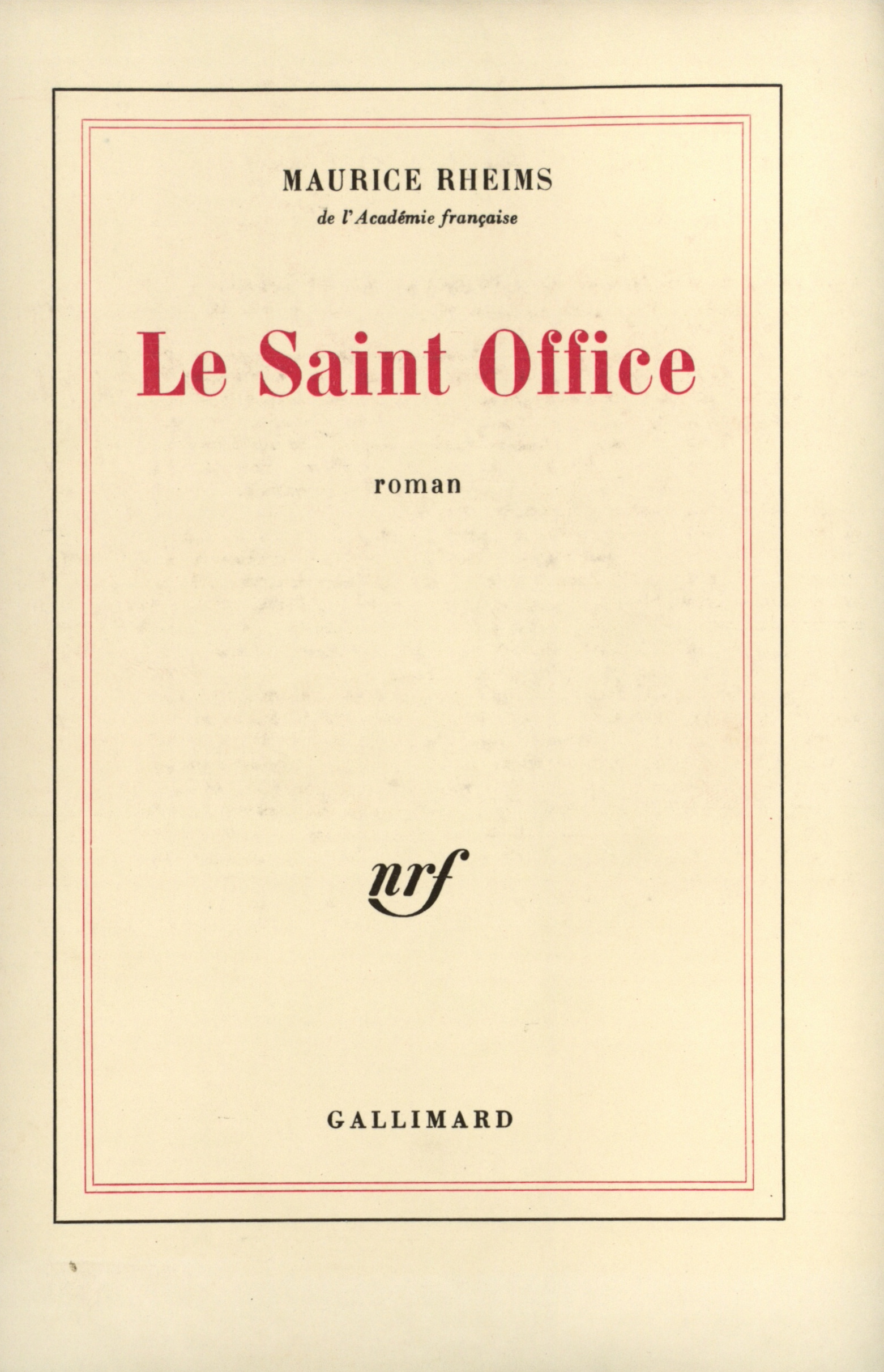 LE SAINT OFFICE
