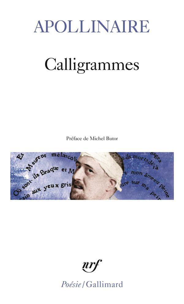 CALLIGRAMMES - POEMES DE LA PAIX ET DE LA GUERRE 1913-1916