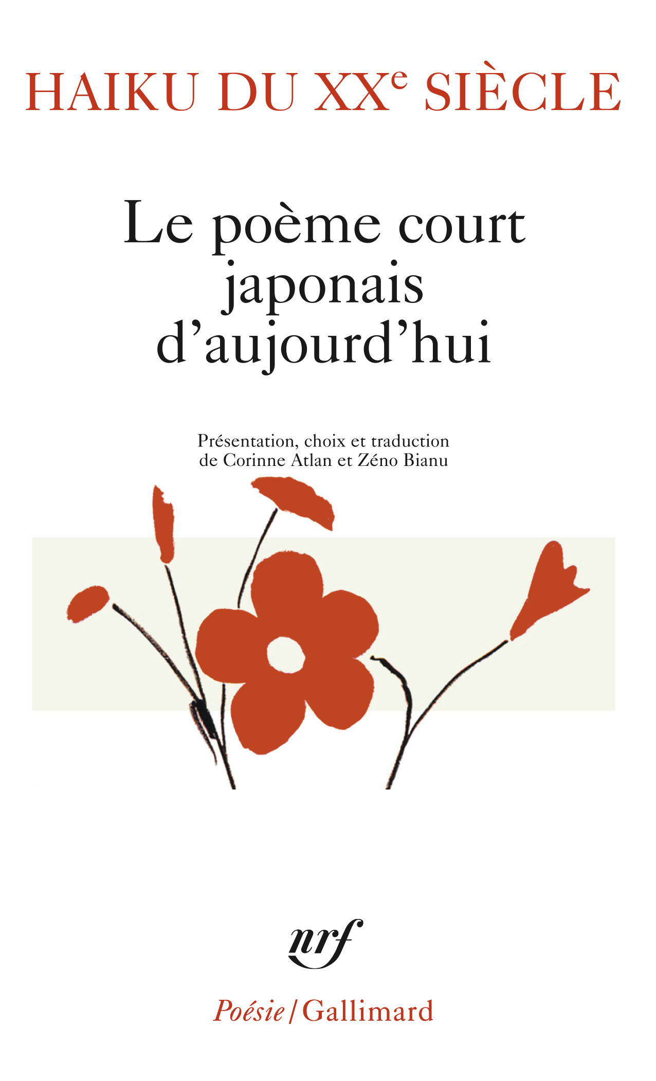 HAIKU DU XXE SIECLE