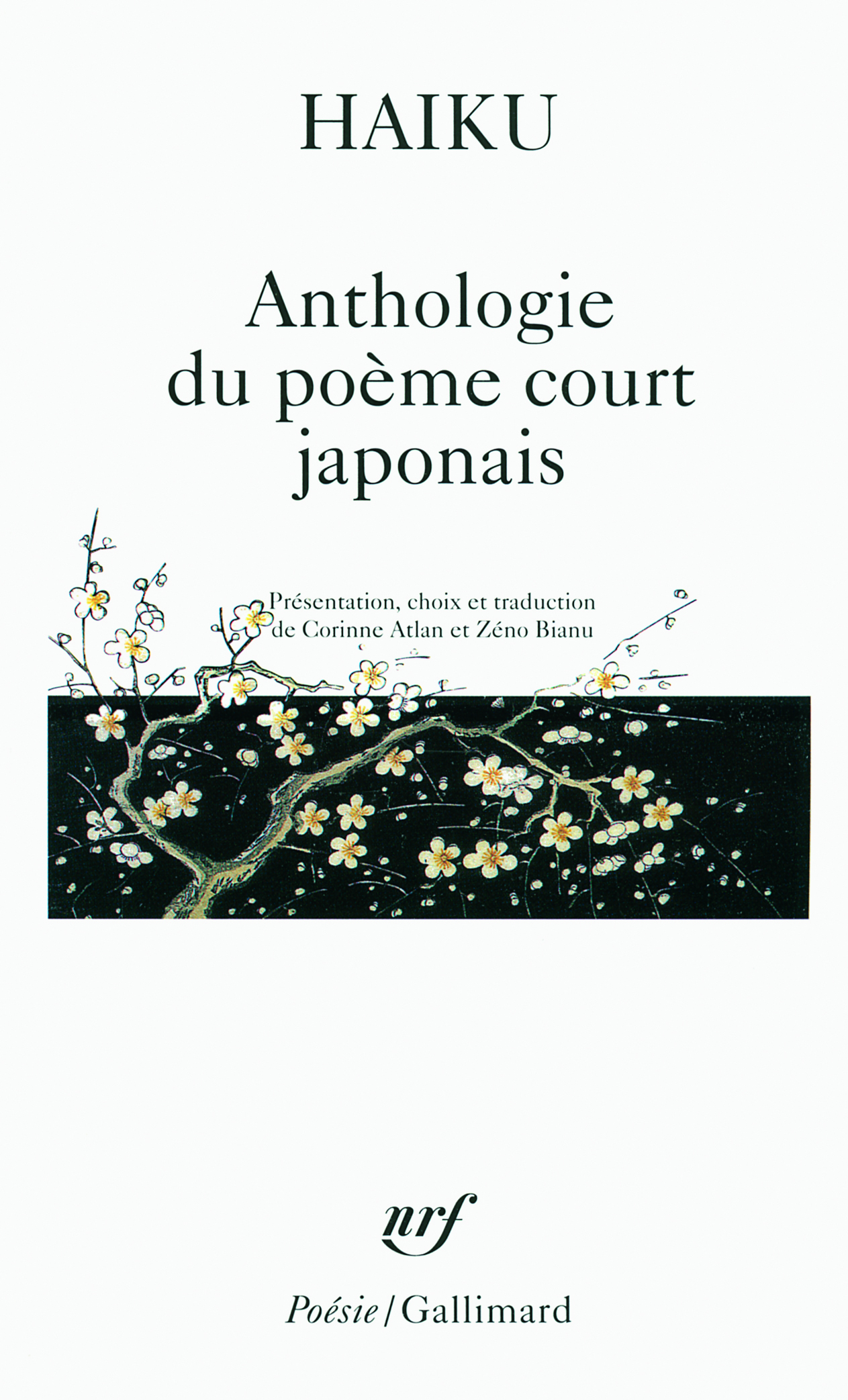 HAIKU ANTHOLOGIE DU POEME COURT JAPONAIS