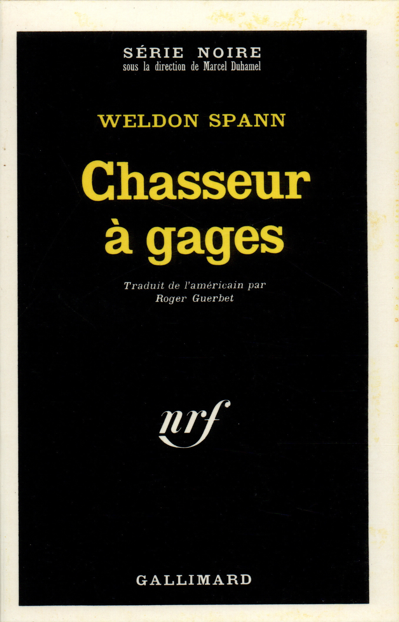 CHASSEUR A GAGES