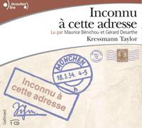 INCONNU A CETTE ADRESSE CD