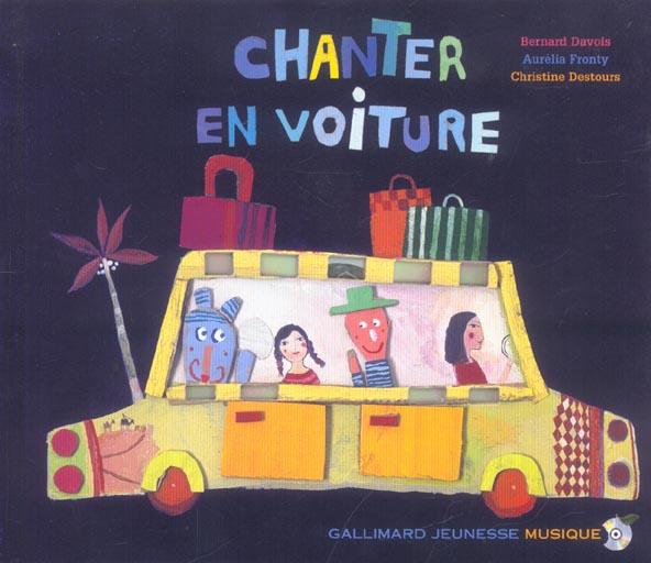 CHANTER EN VOITURE LIV CD