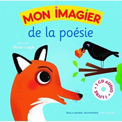 MON IMAGIER DE LA POESIE LIVRE-CD