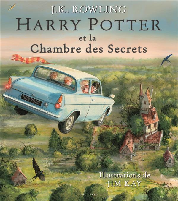HARRY POTTER ET LA CHAMBRE DES SECRETS - VERSION ILLUSTREE