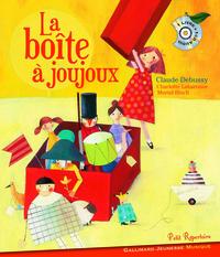 LA BOITE A JOUJOUX LIV CD