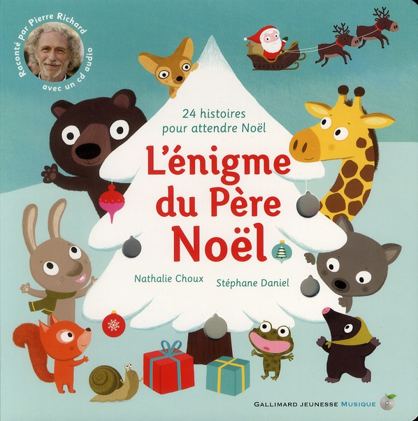 L'ENIGME DU PERE NOEL LIVRE-CD
