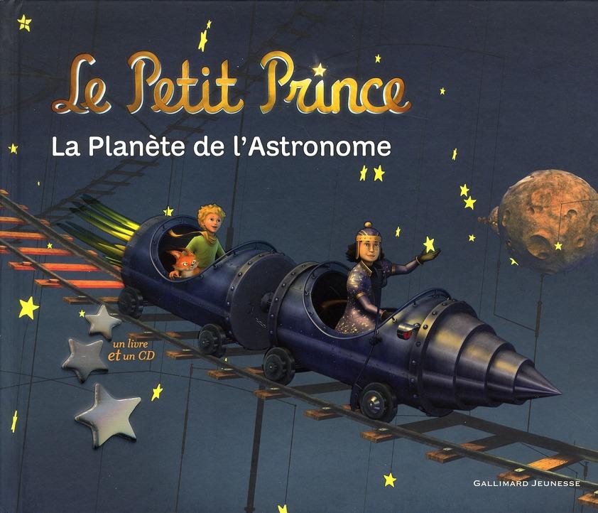 LA PLANETE DE L'ASTRONOME LIVRE-CD