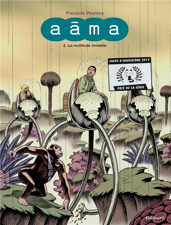 AAMA (TOME 2-LA MULTITUDE INVISIBLE)