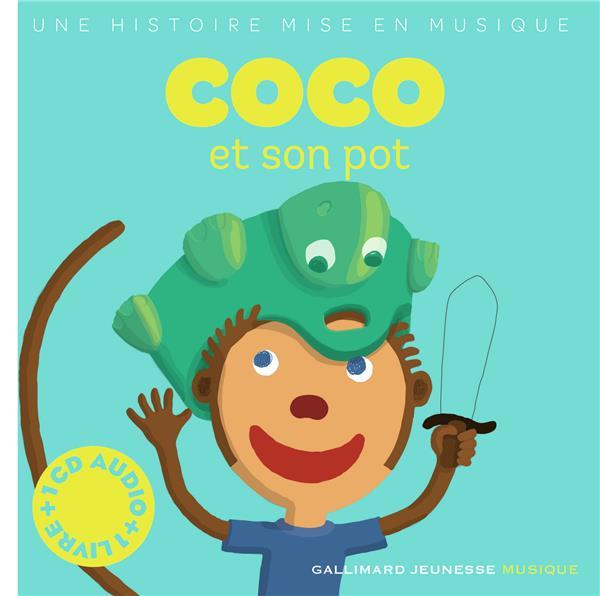 COCO ET SON POT LIVRE-CD