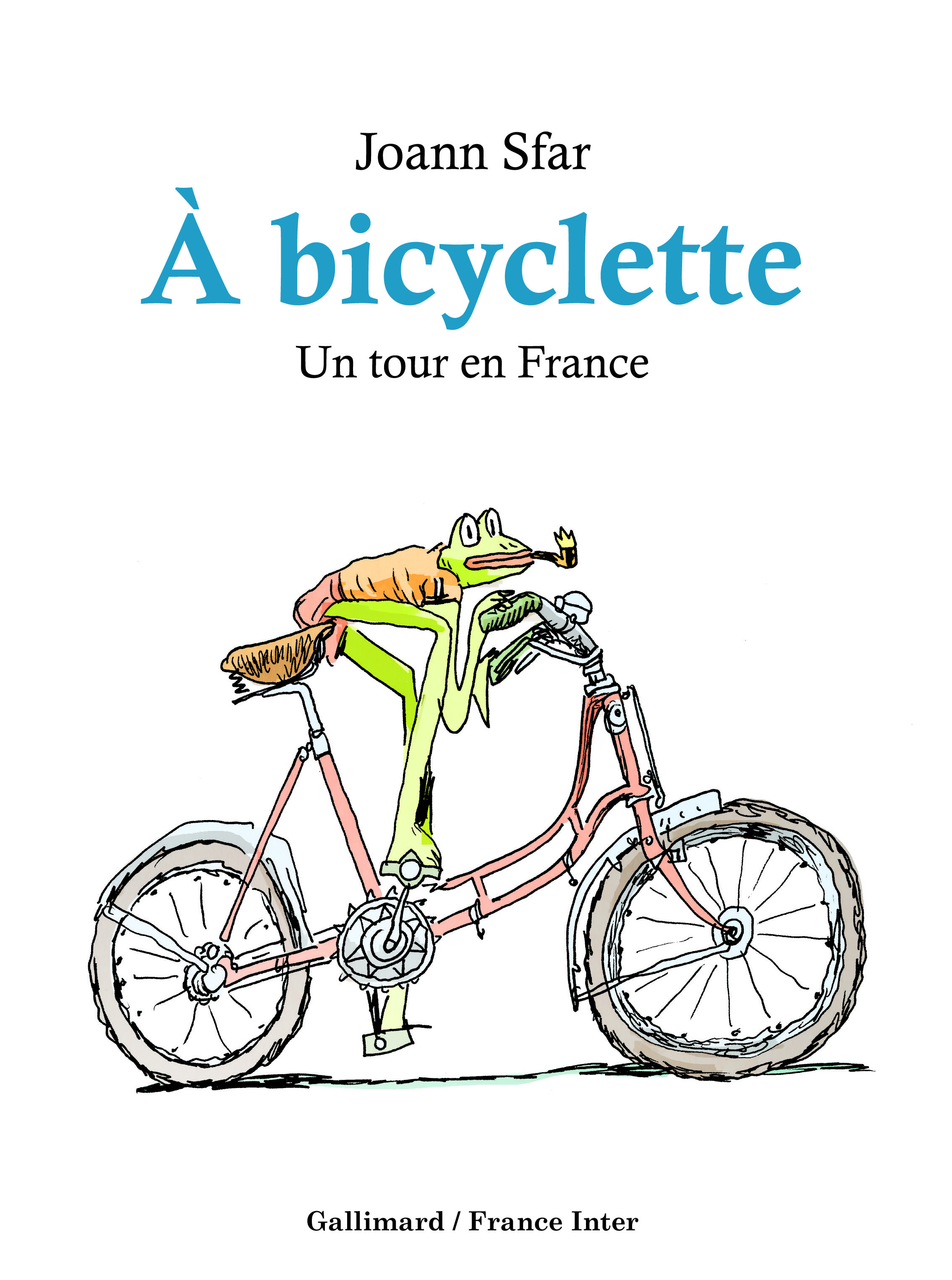 A BICYCLETTE - UN TOUR EN FRANCE