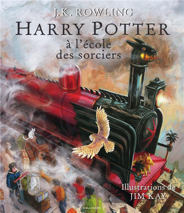 HARRY POTTER - I - HARRY POTTER A L'ECOLE DES SORCIERS