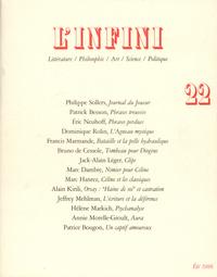 L'INFINI N22