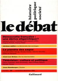 LE DEBAT 52  (NOVEMBRE/DECEMBRE 1988)