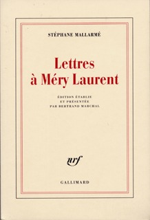 LETTRES A MERY LAURENT