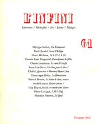 L'INFINI 61