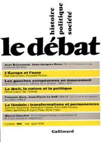 LE DEBAT 100  (MAI-AOUT 1998)
