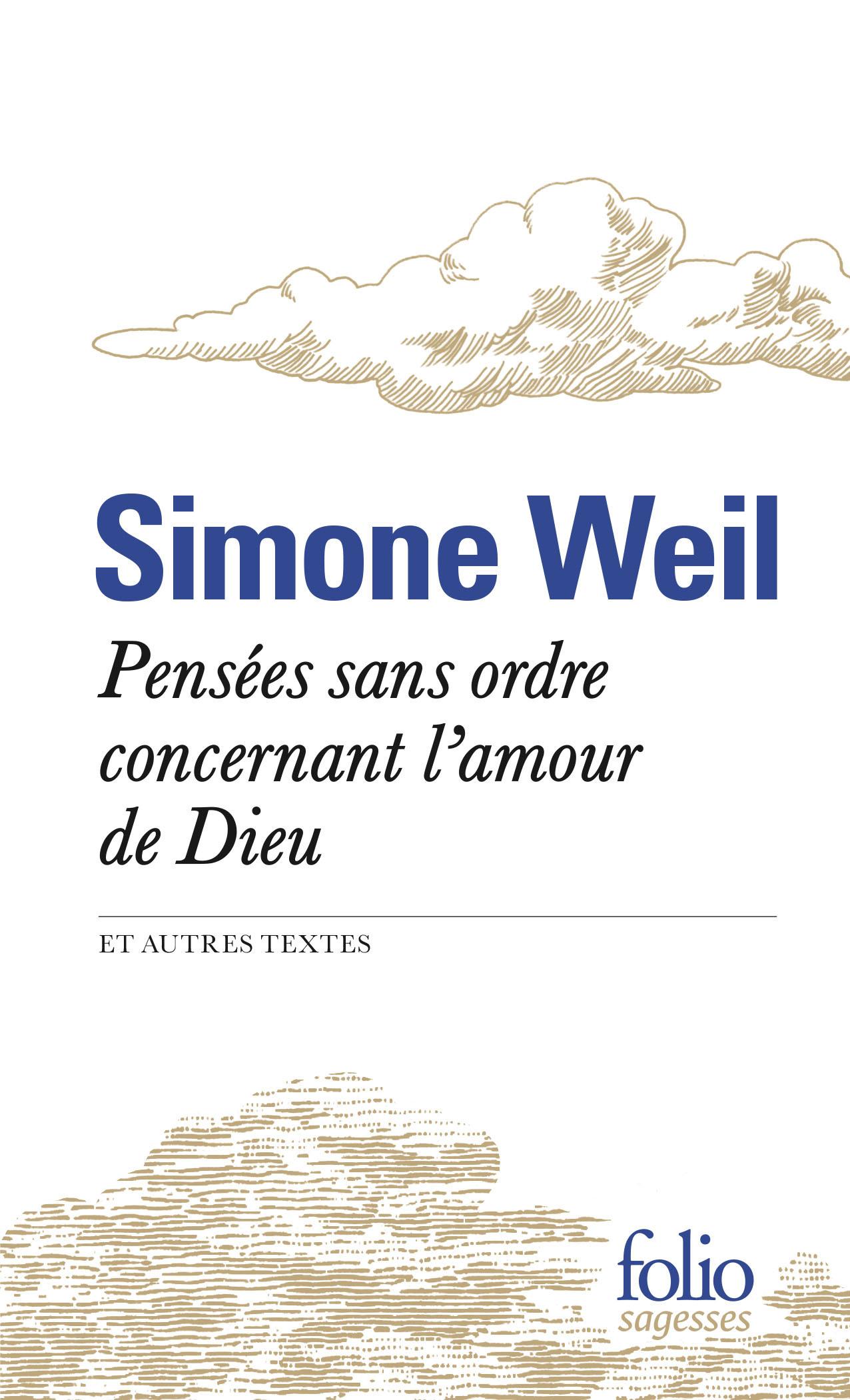 PENSEES SANS ORDRE CONCERNANT L'AMOUR DE DIEU