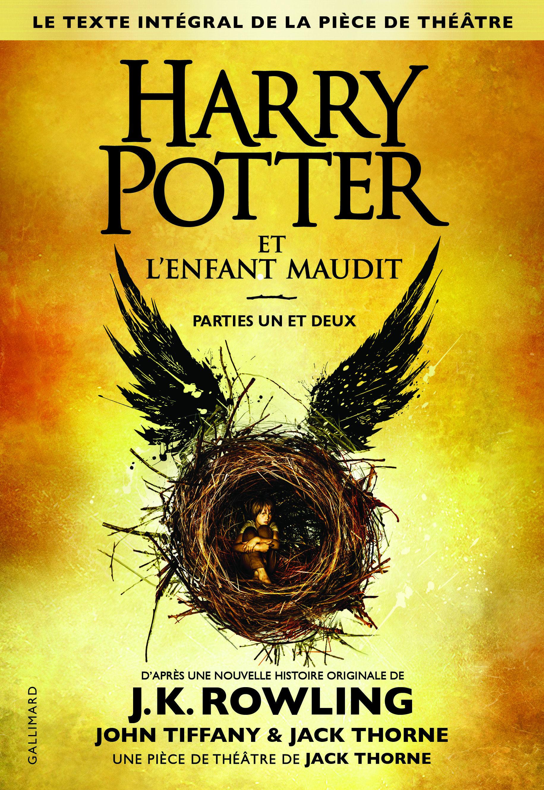 GRAND FORMAT LITTERATURE - ROMANS ADO - HARRY POTTER ET L'ENFANT MAUDIT - PARTIES UNE ET DEUX