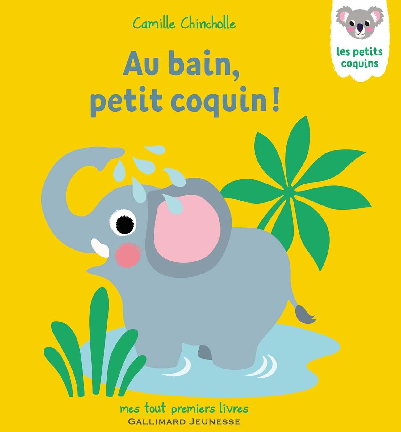 AU BAIN, PETIT COQUIN !