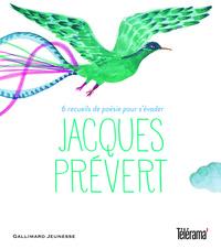 JACQUES PREVERT 6 RECUEILS DE POESIE POUR S'EVADER
