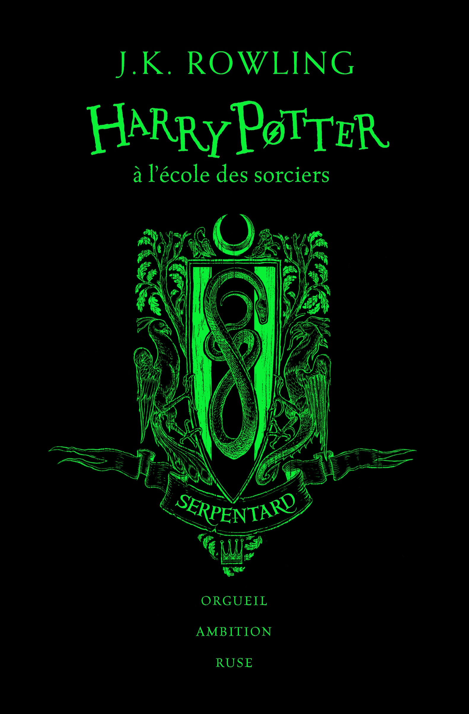HARRY POTTER A L'ECOLE DES SORCIERS - SERPENTARD
