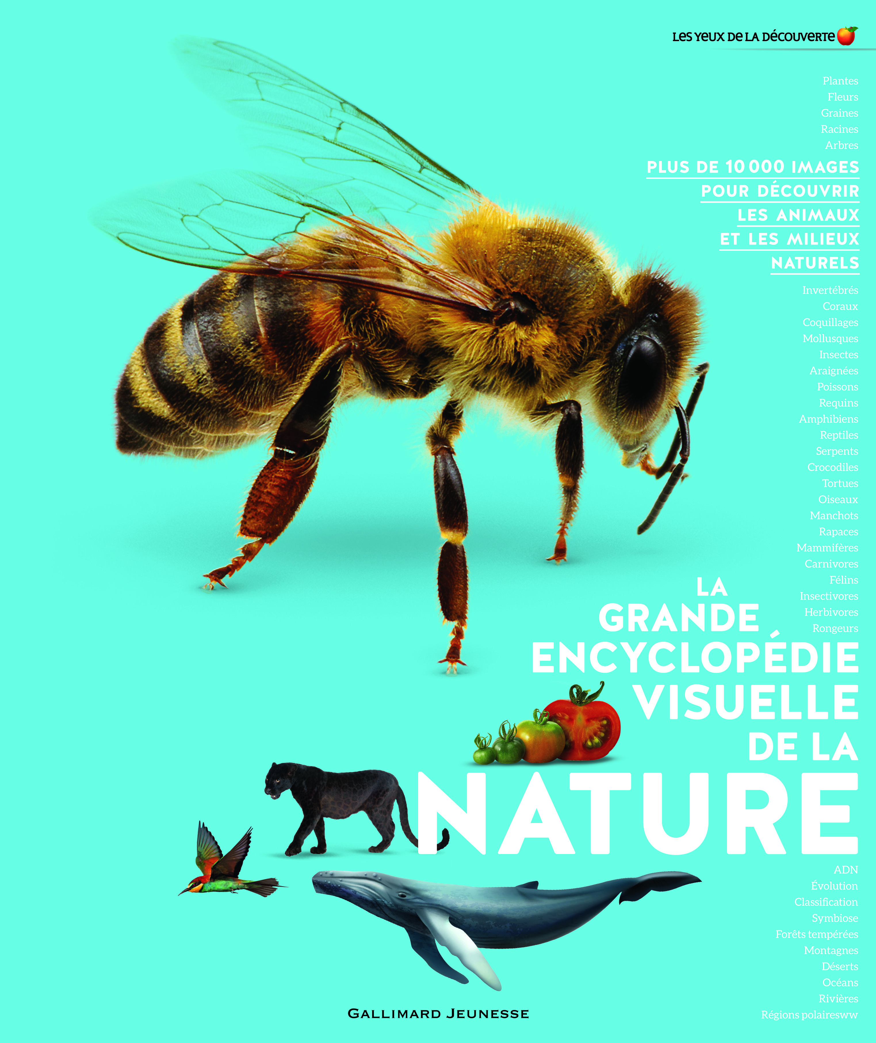 LA GRANDE ENCYCLOPEDIE VISUELLE DE LA NATURE