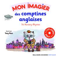 MON IMAGIER DES COMPTINES ANGLAISES LIVRE-CD