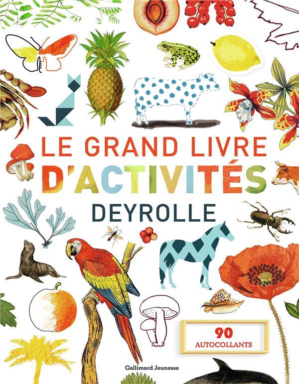 LE GRAND LIVRE D'ACTIVITES DEYROLLE 1, 2