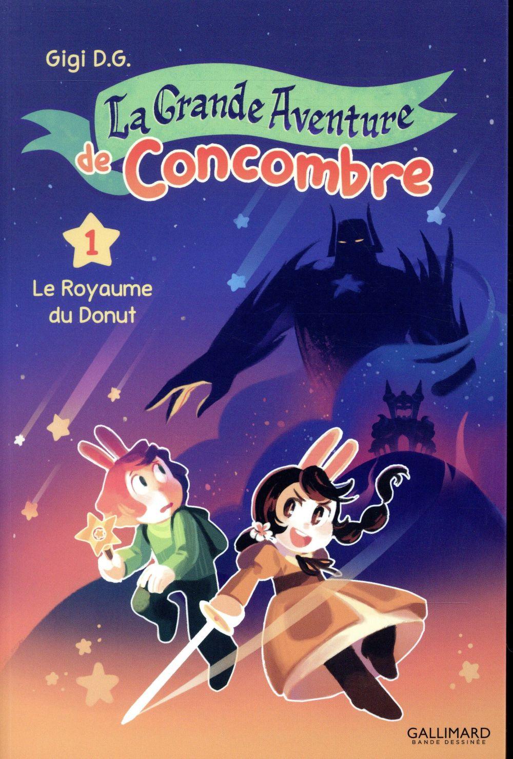 LA GRANDE AVENTURE DE CONCOMBRE (TOME 1-LE ROYAUME DU DONUT)