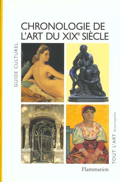 CHRONOLOGIE DE L'ART DU XIXEME SIECLE