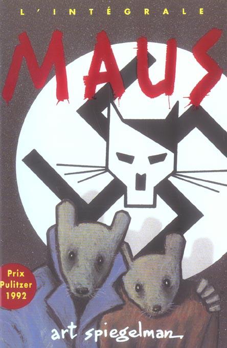 ART - MAUS : UN SURVIVANT RACONTE : L'INTEGRALE - - PRIX PULITZER 1992