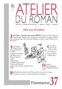 ATELIER DU ROMAN N 37 (REVUE)