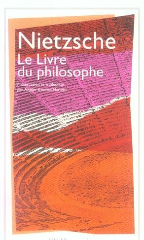 LE LIVRE DU PHILOSOPHE - ETUDES THEORETIQUES