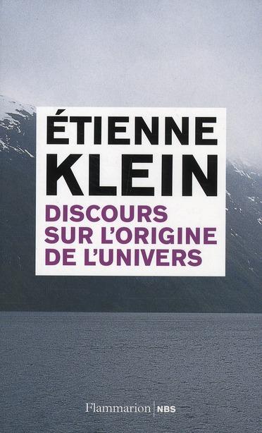 DISCOURS SUR L'ORIGINE DE L'UNIVERS