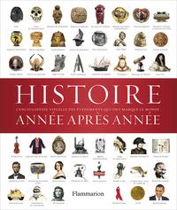 HISTOIRE ANNEE APRES ANNEE - ENCYCLOPEDIE VISUELLE DES EVENEMENTS QUI ONT MARQUE L'HISTOIRE