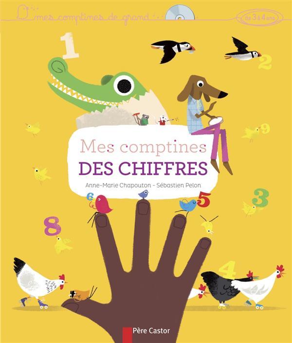 MES COMPTINES DES CHIFFRES + CD
