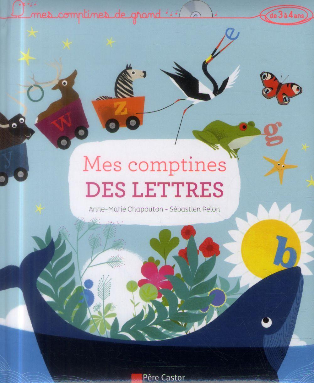 MES COMPTINES DES LETTRES + CD