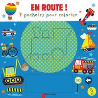 EN ROUTE ! - 7 POCHOIRS POUR COLORIER