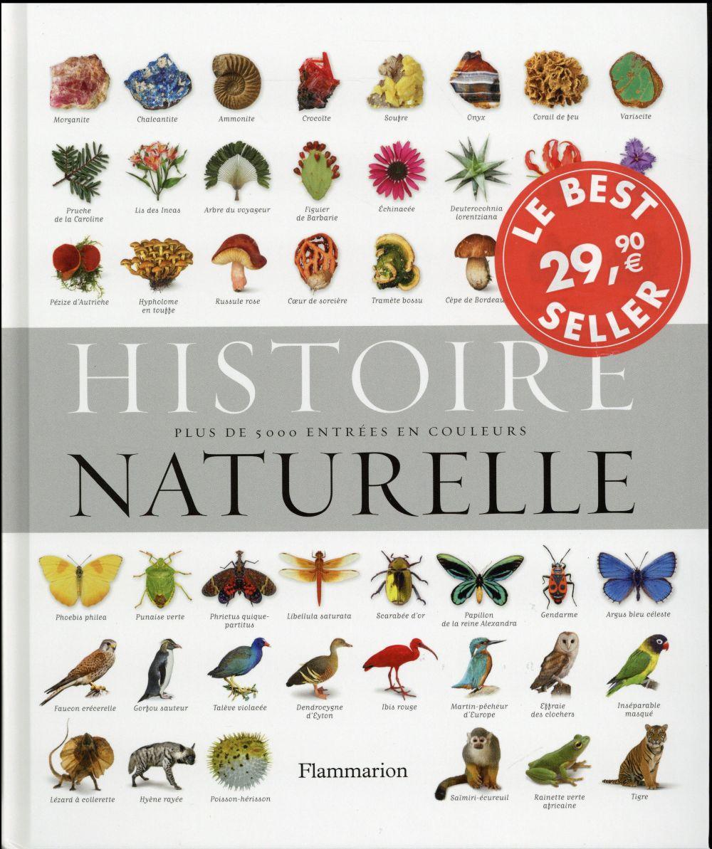 HISTOIRE NATURELLE - PLUS DE 5 000 ENTREES EN COULEURS