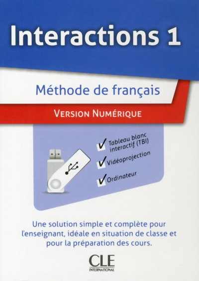 INTERACTIONS A1.1 CLE USB POUR