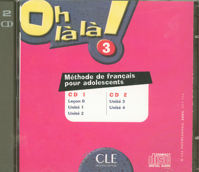 OH LA LA NIVEAU 3 CD AUDIO