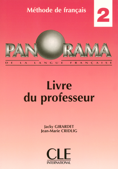 PANORAMA NIVEAU 2 PROF 2004