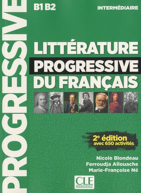 LITTERATURE PROGRESSIVE INTERMEDIAIRE INTERMEDIAIRE+CD 2 ED. NC